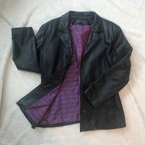 EUC Nicole Miller Leather Jacket